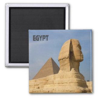 Lembrança da imã de geladeira de Egipto