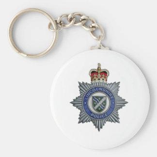 Lembrança da polícia de Lincolnshire Chaveiro