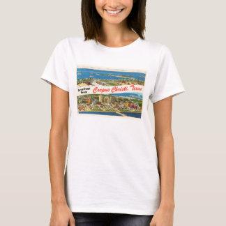 Lembrança das viagens vintage de Corpus Christi Camiseta
