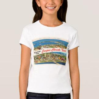 Lembrança das viagens vintage de Corpus Christi Tshirts