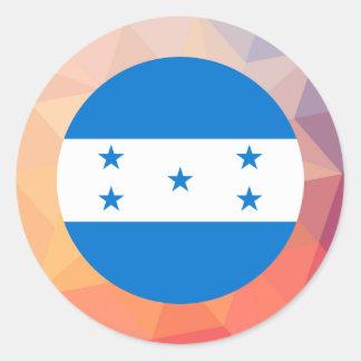 Lembrança de Honduras Adesivo