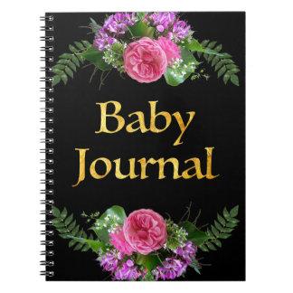 Lembrança do bebê do ~ do livro da memória do bebê caderno espiral