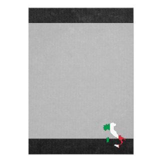 Lembrança italiana da viagem convite 12.27 x 17.78cm