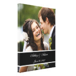 Lembrança personalizada do casamento foto feita so impressão em canvas