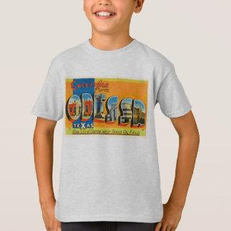 Lembrança velha das viagens vintage de Odessa Camiseta