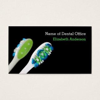 Lembrete dental da nomeação do dentista moderno do cartão de visitas