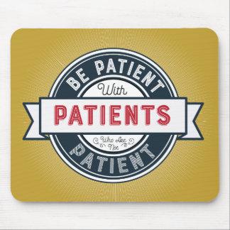 Lembrete paciente Mousepad da enfermeira