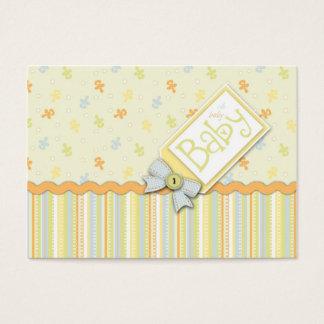 Lembrete precioso Notecard do bebê Cartão De Visitas