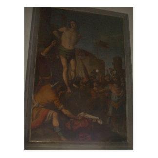 l'Empoli sumário da igreja de San Lorenzo, Martiri Cartao Postal