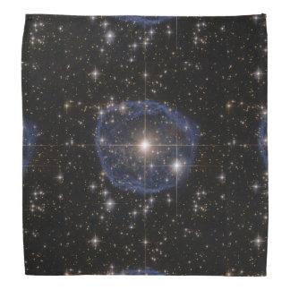 Lenço A bolha azul de Hubble