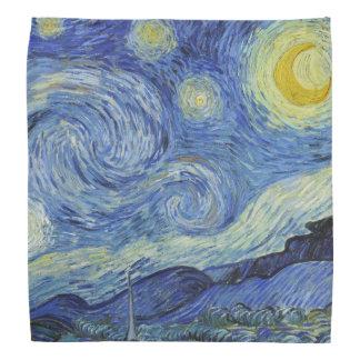Lenço A noite estrelado por Van Gogh