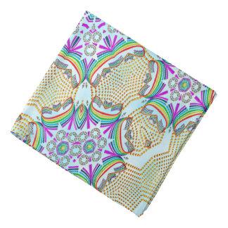 Lenço Azulejo da cor do teste padrão abstrato multi