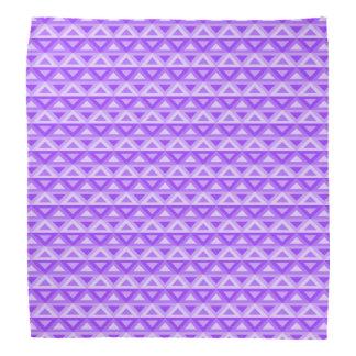 Lenço Bandanna de Rhombus™ da lavanda