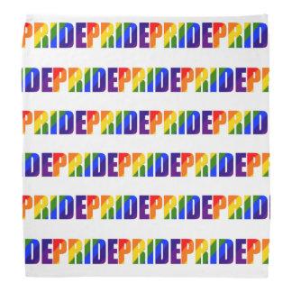 Lenço Bandanna do arco-íris do orgulho de LGBT