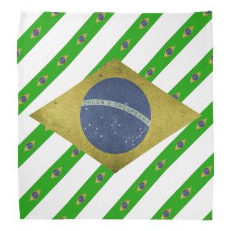 Lenço Bandeira brasileira das listras