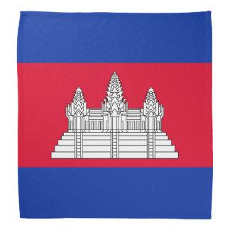 Lenço Bandeira de Cambodia
