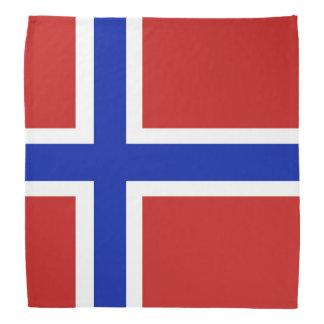 Lenço Bandeira do escandinavo de Noruega