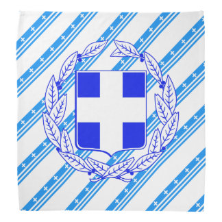 Lenço Bandeira grega das listras