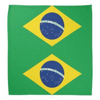 Lenço Bandeira nacional de Brasil, cor exata da