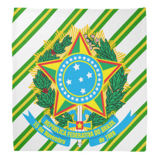 Lenço Braços do casaco de Brasil