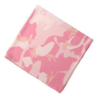 Lenço Camo cor-de-rosa