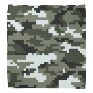 Lenço Camuflagem urbana/Camo do pixel de 8 bocados