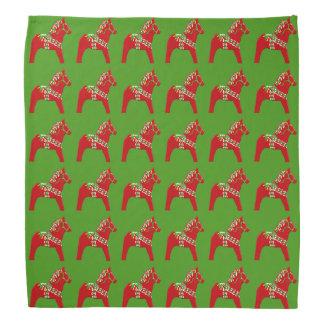 Lenço Cavalos de Dala do Natal