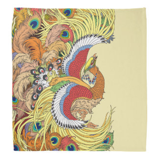 Lenço Chinês phoenix