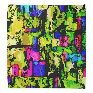 Lenço cores e impressões 3