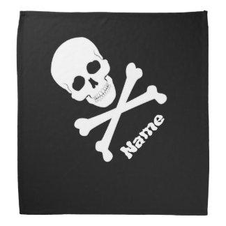 Lenço Crânio de bandeira de pirata e Crossbones Roger