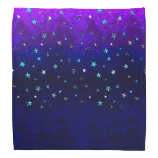 Lenço Da noite bonita da galáxia do espaço imagem