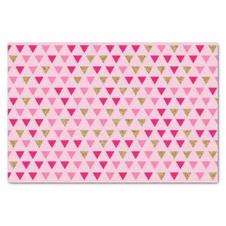 Lenço de papel cor-de-rosa