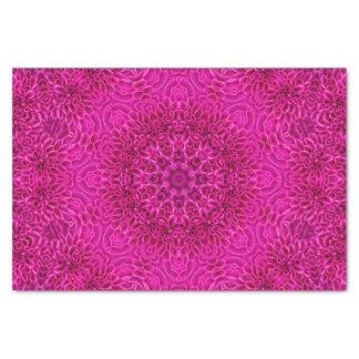 Lenço de papel cor-de-rosa cor-de-rosa do teste