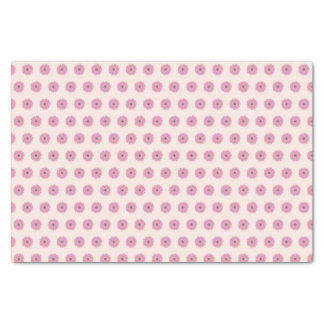 Lenço de papel cor-de-rosa da margarida