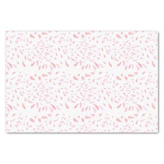 Lenço de papel cor-de-rosa de flutuação das