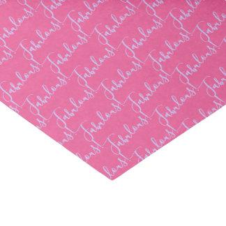 Lenço de papel cor-de-rosa fabuloso do partido da