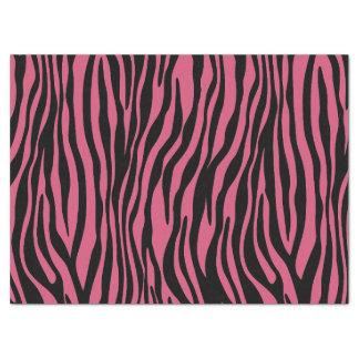 Lenço de papel cor-de-rosa na moda do teste padrão