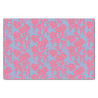 Lenço de papel cor-de-rosa & roxo do impressão