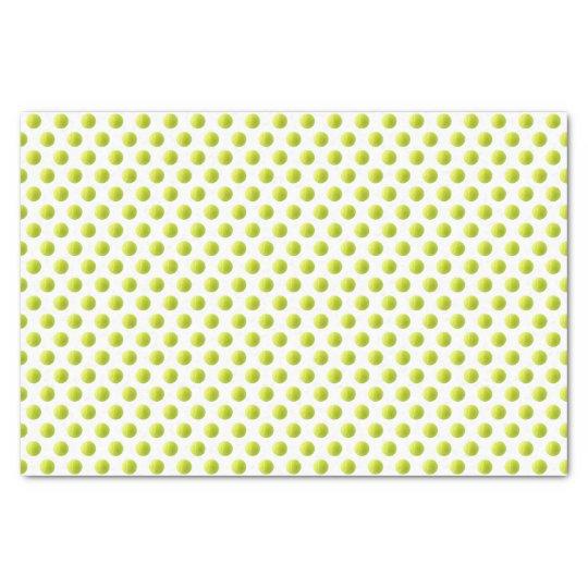 Lenço de papel da bola de tênis