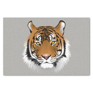 Lenço de papel da cara do tigre