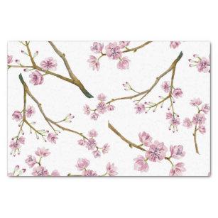Lenço de papel da flor de cerejeira de Sakura