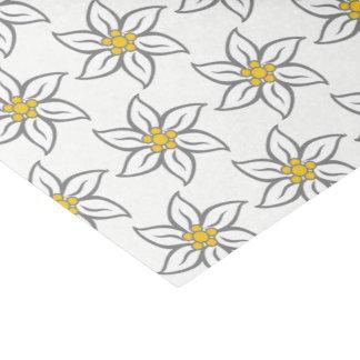 Lenço de papel da flor de Edelweiss
