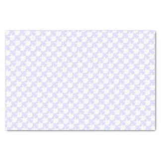 Lenço de papel da flor de lis da lavanda