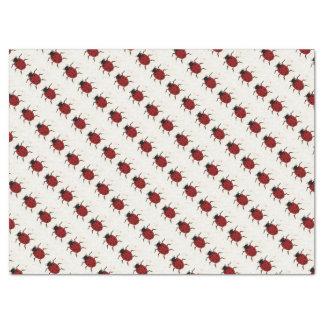 Lenço de papel da joaninha