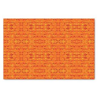 Lenço de papel da laranja de Aztek