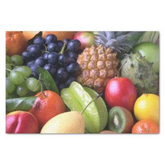 Lenço de papel das frutas e dos vegetarianos