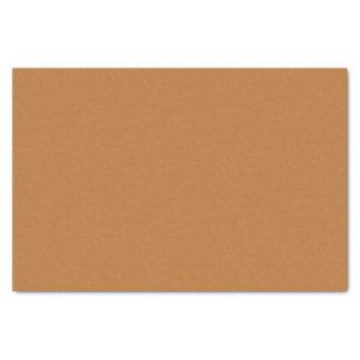 Lenço de papel de cobre de Brown