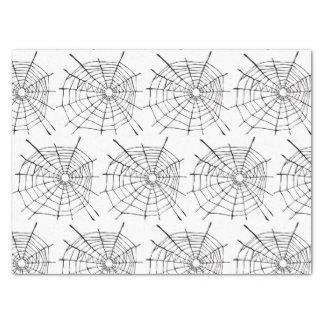 Lenço de papel de Spiderwebs