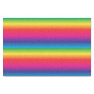 Lenço de papel do arco-íris