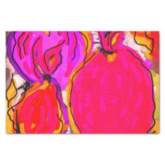 Lenço de papel do design da fruta tropical